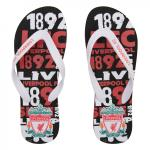 รองเท้าแตะลิเวอร์พูล 1982 ของแท้ LFC Mens Flip Flops