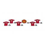 เข็มกลัดที่ระลึกแมนเชสเตอร์ ยูไนเต็ดของแท้ Manchester United Magnificent 7 Badge Set