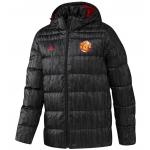 เสื้อแจ็คเก็ตแมนเชสเตอร์ ยูไนเต็ด Down Jacket สีดำของแท้