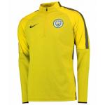 เสื้อแจ็คเก็ตแมนเชสเตอร์ ซิตี้ของแท้ Manchester City Strike Shield Drill Top Yellow