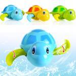 ของเล่นลอยน้ำ เต่าน้อยว่ายน้ำ ไขลาน