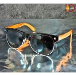 แว่นกันแดด Glassy Sunhaters รุ่น SHREDDER - BLACK WOOD