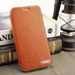 Cadenz Leather Case For OPPO F1s สีน้ำตาล