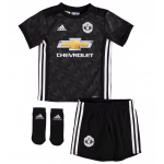 เสื้อแมนเชสเตอร์ ยูไนเต็ด 2017 2018 ทีมเยือนสำหรับเด็กเล็ก พร้อมถุงเท้าของแท้