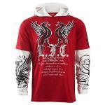 ทีเชิ้ตลิเวอร์พูล ของแท้ 100% Liverpool FC Tribal T-Shirt - Long Sleeve