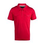 เสื้อโปโลลิเวอร์พูล ของแท้ 100% Liverpool FC Mens Red Castle Polo Shirt