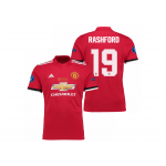 เสื้อแมนเชสเตอร์ ยูไนเต็ด 2017 2018 ทีมเหย้า UEFA Super Cup 2017 รอบสุดท้าย Rashford 19 ของแท้