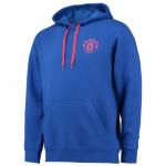 เสื้อฮู้ดแมนเชสเตอร์ ยูไนเต็ด Core Hoody - Royal Blue สีน้ำเงินของแท้