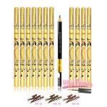 (ยกโหล) ดินสอเขียนคิ้ว ปลอกทอง โอดีบีโอ อาบราว เพ็นซิล แอนด์ บรัช Eyebrow Pencil OB172