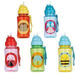 ขวดน้ำ Skip*Hop Zoo Straw Bottle มีหลอดดูด