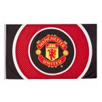 ธงที่ระลึกแมนเชสเตอร์ ยูไนเต็ดของแท้ Manchester United Bullseye Flag