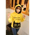 เสื้อกันหนาวแมว สีเหลือง