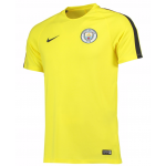 เสื้อแมนเชสเตอร์ ซิตี้ของแท้ Manchester City Squad Training Top Yellow