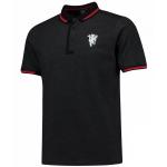 เสื้อโปโลแมนเชสเตอร์ ยูไนเต็ด Lifestyle Tipped Polo Shirt - Grey ของแท้