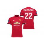 เสื้อแมนเชสเตอร์ ยูไนเต็ด 2017 2018 ทีมเหย้า UEFA Super Cup 2017 รอบสุดท้าย Mkhitaryan 22 ของแท้