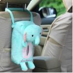ตุ๊กตาแขวนเบาะใส่กล่องกระดาษทิชชู่ (ช้าง)