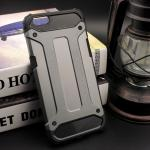 Rugged Hybrid Dual Layer Armor Case Cover For For OPPO R9s สีเมทัลลิก