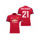 เสื้อแมนเชสเตอร์ ยูไนเต็ด 2017 2018 ทีมเหย้า UEFA Super Cup 2017 รอบสุดท้าย Ander Herrera 21 ของแท้