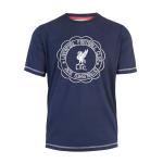 เสื้อลิเวอร์พูล พเลย์ออฟทีเชิ้ต ของแท้ 100% Liverpool FC Mens Playoff Navy Tee