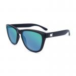 แว่นกันแดด Knockaround New Permium : BLACK / GREEN MOONSHINE