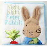 หนังสือผ้าเนื้อนุ่มนิ่ม กระต่ายน้อย Night, Night, Peter Rabbit