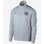 เสื้อแจ็คเก็ตเชลซี Franchise สีแพลตินั่มของแท้
