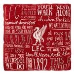 หมอนอิงลิเวอร์พูลของแท้ Liverpool FC Chenille Cushion