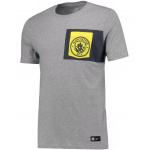 เสื้อทีเชิ้ตแมนเชสเตอร์ ซิตี้ของแท้ Manchester City Crest T-Shirt Dk Grey