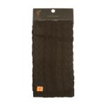 ผ้าพันคอลิเวอร์พูล Liverpool fc Black Fashion Cable Scarf ของแท้ 100%