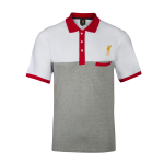 เสื้อโปโลลิเวอร์พูล ของแท้ 100% Liverpool FC Mens White Clovelly Polo Shirt