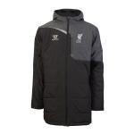 เสื้อลิเวอร์พูลเทรนนิ่ง เสื้อแจ็คเก็ต สเตเดี้ยม 2014 2015 สีดำ ของแท้ 100%