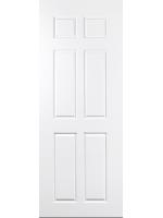 ประตู UPVC รุ่น v-series บานลูกฟัก PN003 ขนาด 70X200