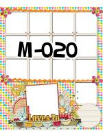 Template photo mix ขนาด 20x24 รหัส M-020