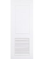 ประตู upvc รุ่นบานเกล็ด pl-004 ขนาด 70x200
