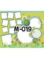 Template photo mix ขนาด 20x24 รหัส M-019