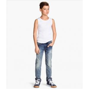 H&M Skinny Fit Jeans/Light denim blue กางเกงยีนส์ ทรงสกินนี่ สีซีด มีไซส์ 8-9ปี / 9-10ปี / 10-11ปี