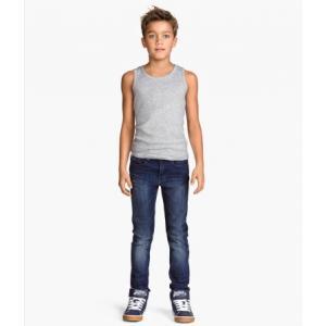 H&M Skinny Fit Jeans/Dark Blue กางเกงยีนส์ ทรงสกินนี่ สีน้ำเงินเข้ม มีไซส์ 3-4ปี / 7-8ปี / 8-9ปี / 9-10ปี