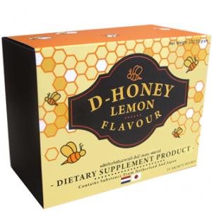 ดี-ฮันนี่ เลมอน เฟลเวอร์ Baby Kiss D-Honey Lemon Flavour 1 กล่องมี 15 ซอง