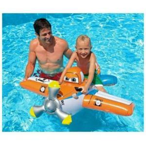 แพยางเป่าลมรูปเครื่องบิน Pool Rider Plane Dusty ลิขสิทธิ์แท้จาก Intex