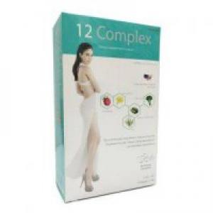 ทเวลฟ์ คอมเพลกซ์ (12 complex) ผลิตภัณฑ์เสริมอาหารลดน้ำหนัก สุดยอด 12 สารสกัด premium จากอเมริกา ตรงเข้าสลายไขมัน 12 จุด เห็นผลเปลี่ยนแปลงภายใน 12 ชั่วโมง สูตรลับ หุ่นสวย เพรียวกระชับที่จุ๋ยอยากบอกต่อ