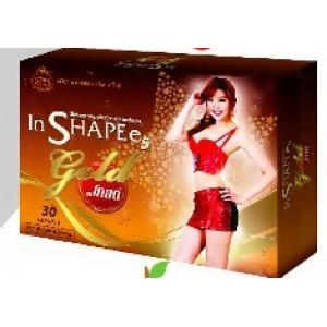 อินชาปี้ไฟว์ โกลด์ (In Shapee 5 Gold) ผลิตภัณฑ์เสริมอาหารลดน้ำหนัก สูตรใหม่ สำหรับผู้ที่ผ่านยาลดเยอะ น้ำหนักเยอะ ลดยาก ดื้อยาต้องสูตรนี้เลย