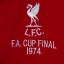 เสื้อลิเวอร์พูลย้อนยุค1974 ของแท้ Liverpool FC 1974 FA Cup Final Shirt thumbnail 3