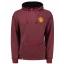 เสื้อฮู้ดแมนเชสเตอร์ ยูไนเต็ด Manchester United Essential Hoodie Burgundy Marl ของแท้ thumbnail 3