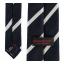 เนคไทแมนเชสเตอร์ ยูไนเต็ดของแท้ Manchester United Crest Striped Tie Navy White Polyester thumbnail 3