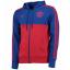 เสื้อแจ็คเก็ตแมนเชสเตอร์ ยูไนเต็ด Manchester United 3 Stripe Full Zip Hoodie สีน้ำเงินของแท้ thumbnail 3