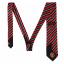 เนคไทแมนเชสเตอร์ ยูไนเต็ดของแท้ Manchester United Crest Striped Tie Red-Black White Polyester thumbnail 2