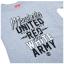 เสื้อแมนเชสเตอร์ ยูไนเต็ด Red and White Army T-Shirt - Boys Grey สำหรับเด็กชายของแท้ 100% thumbnail 3