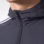 เสื้อฮู้ดแมนเชสเตอร์ ยูไนเต็ด แจ็คเก็ตพรีเซ้นเทชั่นสีเทาเข้มของแท้ 100% thumbnail 3