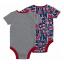 เสื้อผ้าแมนเชสเตอร์ ยูไนเต็ดของแท้ สำหรับเด็กเล็ก Manchester United 2 PK Bodysuits thumbnail 2