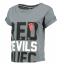 เสื้อแมนเชสเตอร์ ยูไนเต็ดของแท้ สำหรับสุภาพสตรี Manchester United Crop Top - Grey Rock Marl - Womens thumbnail 1
